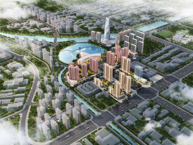 南门湖·华侨新城